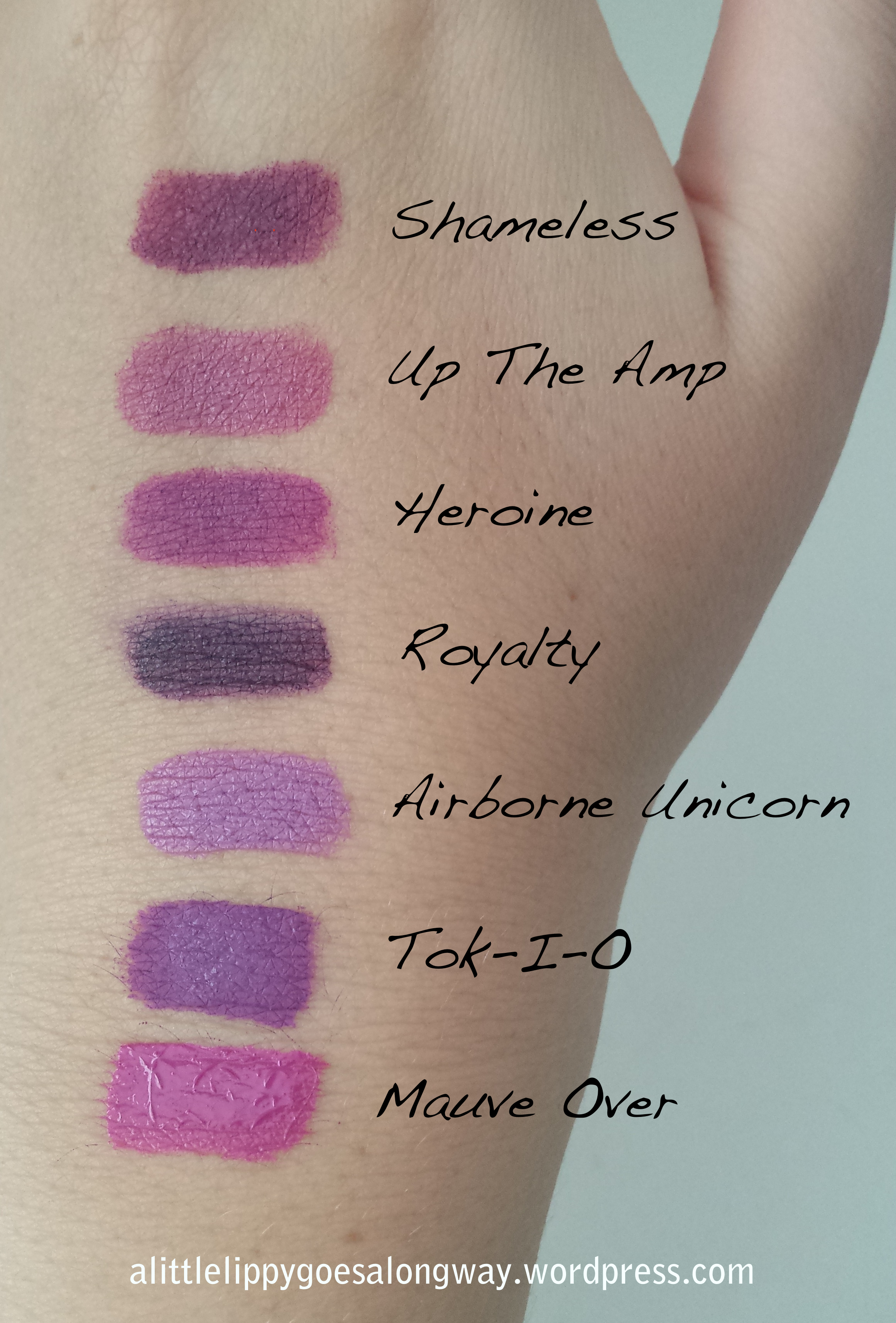 Top Picks – Purple Lipstick | A Little Lippy Goes a Long Way